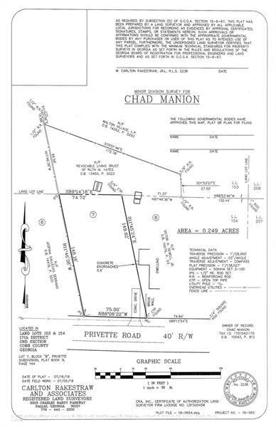Lot 7 Privette Road, Marietta, GA 30008 (MLS #6026011) :: The Cowan Connection Team