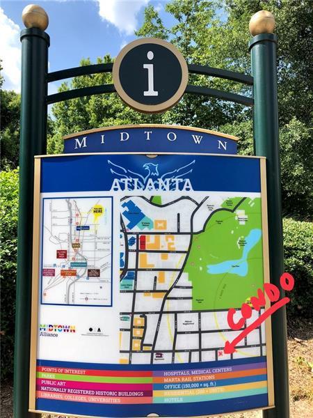 343 8th Street NE T3, Atlanta, GA 30309 (MLS #6030340) :: RE/MAX Paramount Properties