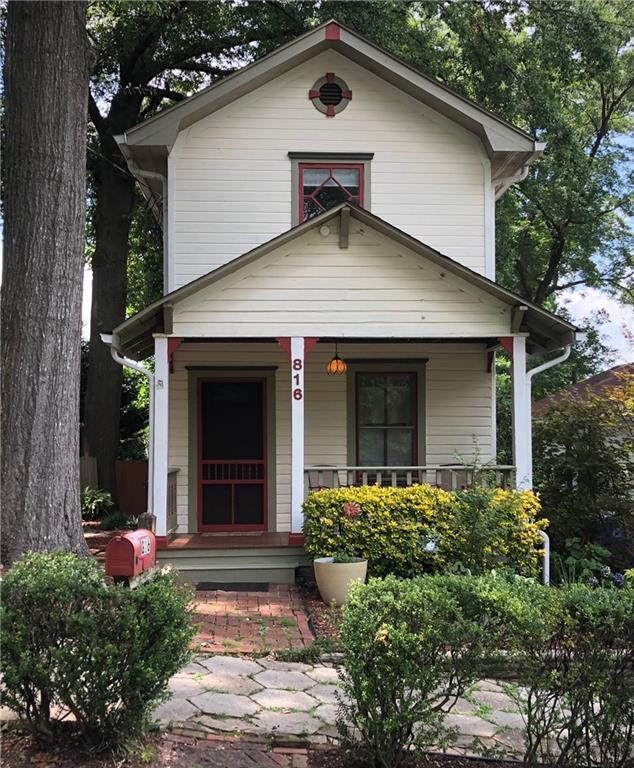 816 Virgil Street NE, Atlanta, GA 30307 (MLS #6099256) :: North Atlanta Home Team