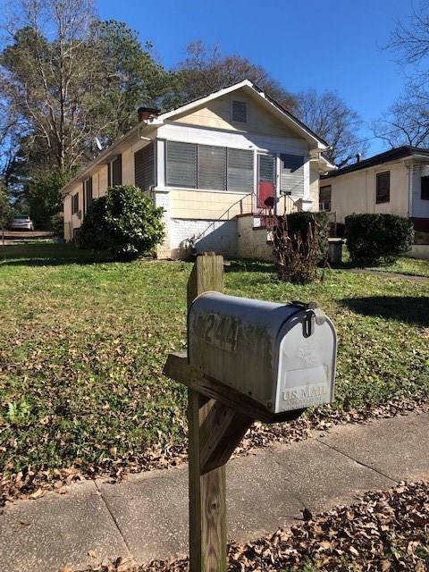 244 Wynnwood Drive SW, Atlanta, GA 30310 (MLS #6125901) :: Iconic Living Real Estate Professionals