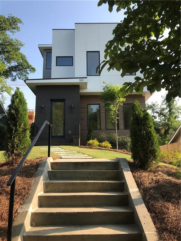 522 Boulevard Place NE #1, Atlanta, GA 30308 (MLS #6557393) :: RE/MAX Paramount Properties