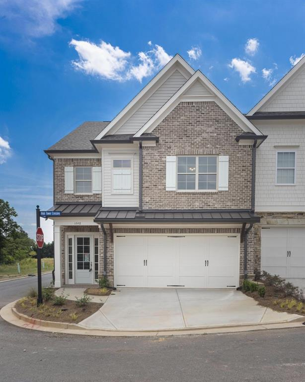 1248 Hightower Crossing #43, Marietta, GA 30060 (MLS #6561113) :: RE/MAX Prestige