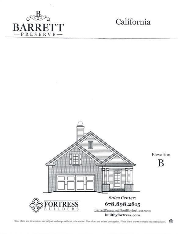 2431 Barrett Preserve Court SW, Marietta, GA 30064 (MLS #6566240) :: RE/MAX Prestige