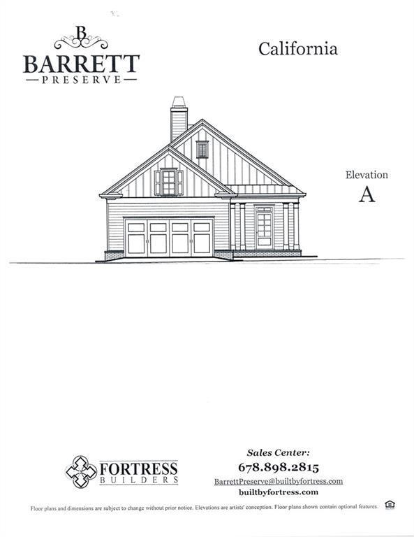 2427 Barrett Preserve Court SW, Marietta, GA 30064 (MLS #6566246) :: RE/MAX Prestige