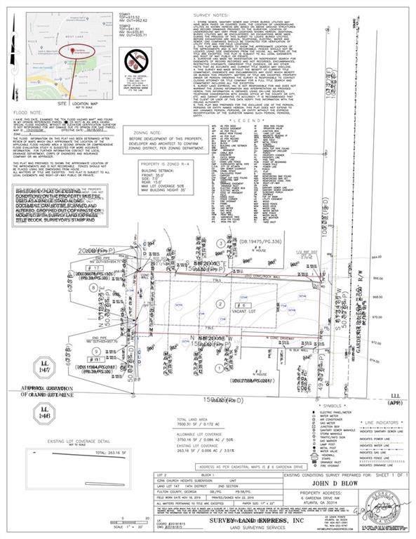 0 Gardenia Drive NW, Atlanta, GA 30314 (MLS #6590349) :: The Heyl Group at Keller Williams
