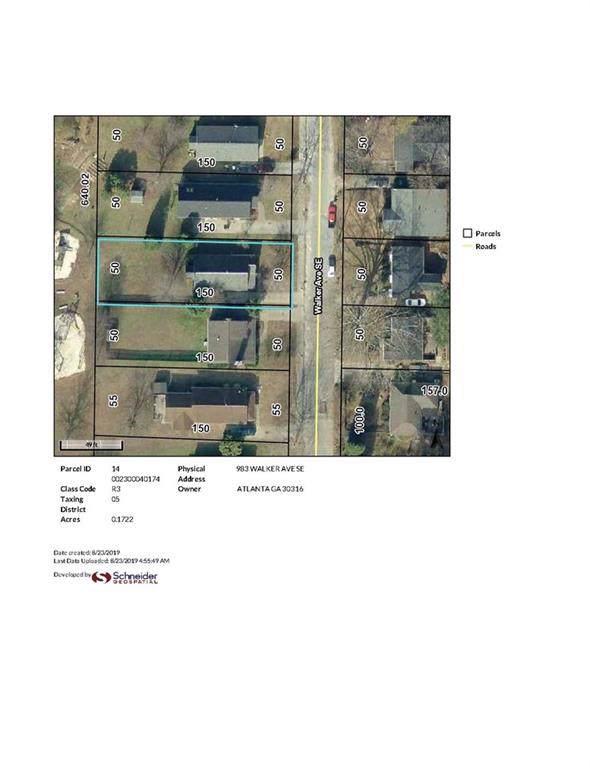 983 Walker Avenue SE, Atlanta, GA 30316 (MLS #6607071) :: The Heyl Group at Keller Williams