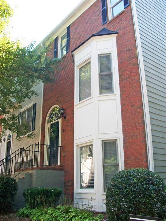 260 Manning Road #63, Marietta, GA 30064 (MLS #6614768) :: North Atlanta Home Team