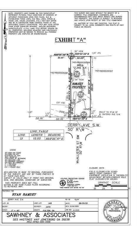 1629 Derry Avenue SW, Atlanta, GA 30310 (MLS #6675328) :: RE/MAX Paramount Properties