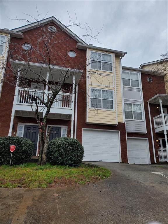 589 Cooper Street SW #10, Atlanta, GA 30312 (MLS #6679149) :: The Hinsons - Mike Hinson & Harriet Hinson