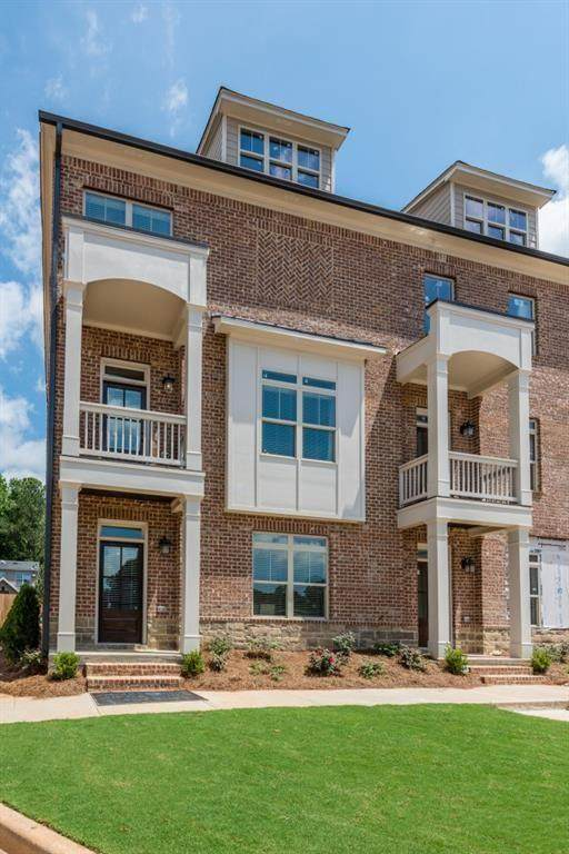 1264 Stone Castle Circle #17, Smyrna, GA 30080 (MLS #6738522) :: Keller Williams Realty Cityside