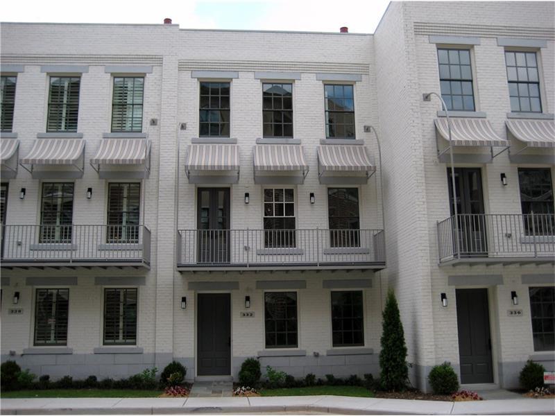 332 Stonemont Drive #22, Atlanta, GA 30305 (MLS #5651892) :: North Atlanta Home Team