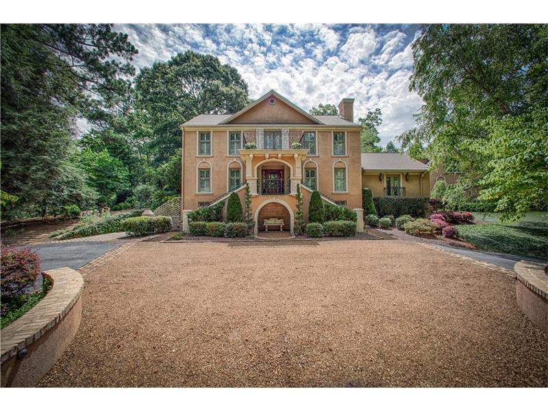 12805 Bucksport Drive, Roswell, GA 30075 (MLS #5664069) :: North Atlanta Home Team