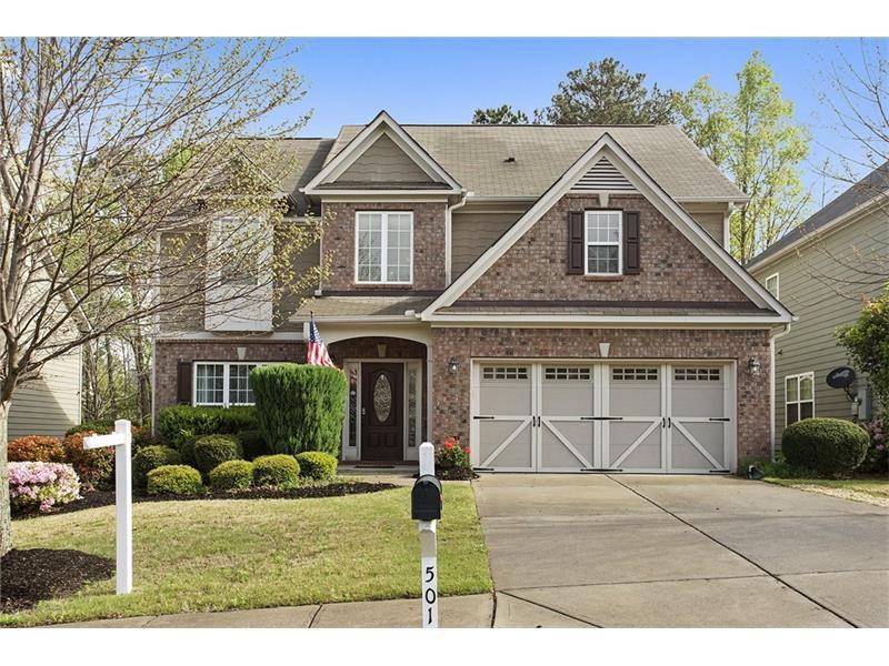 501 Crestmont Lane, Canton, GA 30114 (MLS #5669522) :: North Atlanta Home Team