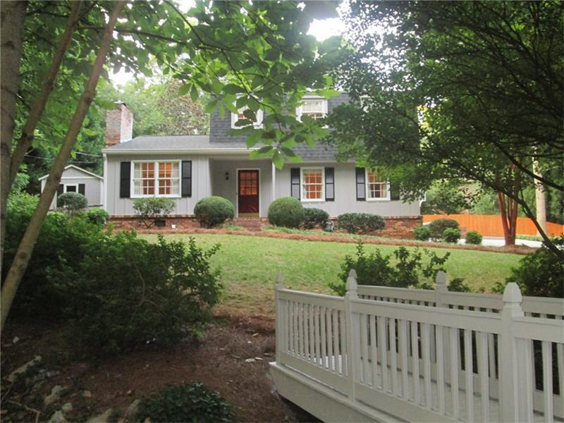 1715 N Springs Drive, Dunwoody, GA 30338 (MLS #5746435) :: North Atlanta Home Team