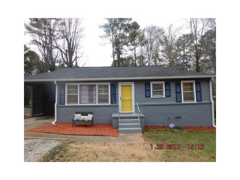 2473 Old Colony Road, East Point, GA 30344 (MLS #5747057) :: North Atlanta Home Team