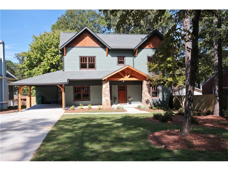 1277 Fenway Circle, Decatur, GA 30030 (MLS #5760654) :: North Atlanta Home Team