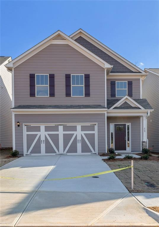 469 Omnia Ridge Way, Lawrenceville, GA 30044 (MLS #6100611) :: Kennesaw Life Real Estate