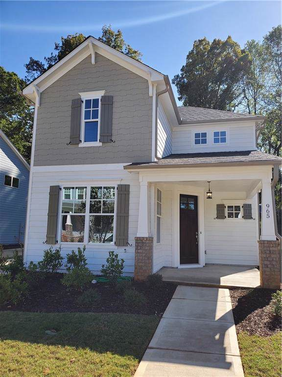 965 Rittenhouse Way SE, Atlanta, GA 30316 (MLS #6630098) :: KELLY+CO