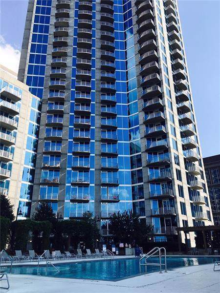 400 W Peachtree Street NW #1816, Atlanta, GA 30308 (MLS #6633536) :: Good Living Real Estate