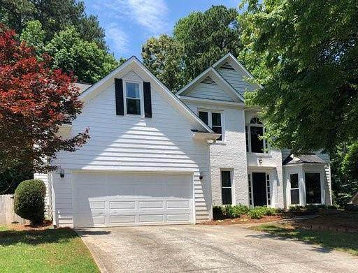 2235 Duck Hollow Drive NW, Kennesaw, GA 30152 (MLS #6730932) :: Path & Post Real Estate