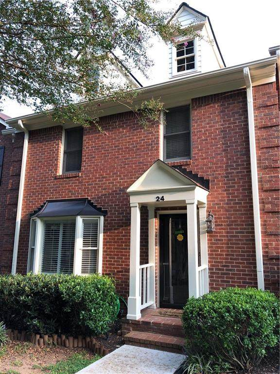 24 Huntington Place Drive, Sandy Springs, GA 30350 (MLS #6797555) :: KELLY+CO