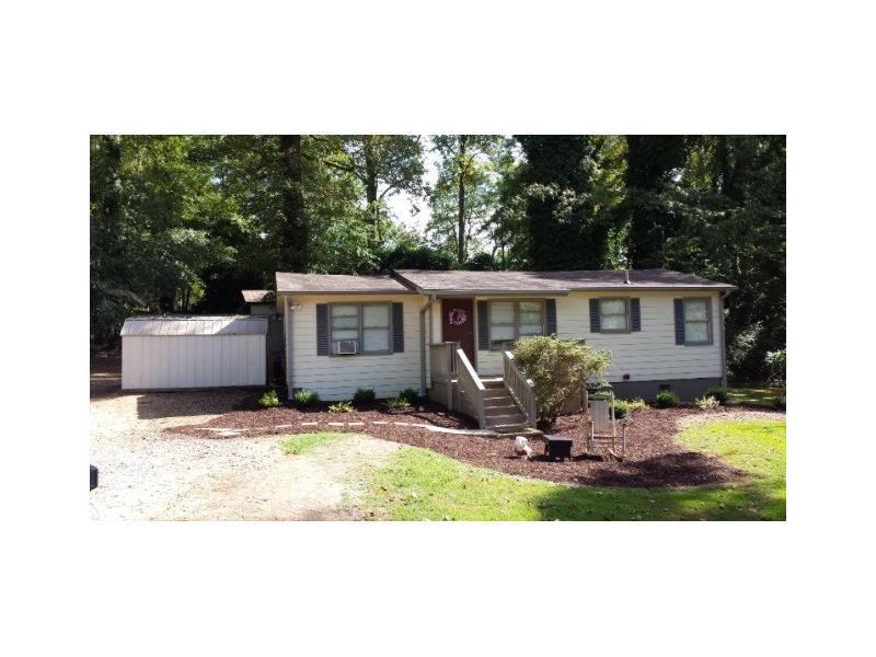 543 Highway 53 W, Dawsonville, GA 30534 (MLS #5729722) :: North Atlanta Home Team