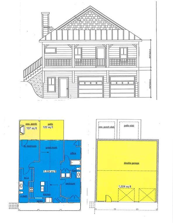 109 Fort Smith Court, Waleska, GA 30183 (MLS #6807391) :: Rock River Realty
