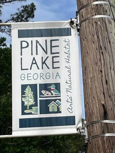 447 Oak Drive, Pine Lake, GA 30072 (MLS #6887498) :: The Hinsons - Mike Hinson & Harriet Hinson