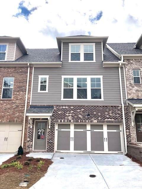 5130 Akbar Chase #27, Atlanta, GA 30339 (MLS #6632380) :: North Atlanta Home Team