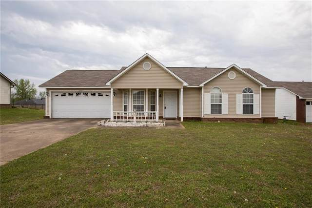 1021 Opal Drive, Van Buren, AR 72956 (MLS #1045993) :: Fort Smith Real Estate Company