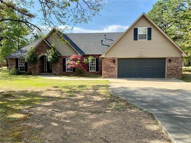 24660 Wolf Mountain Road, Wister, OK 74966 (MLS #1046004) :: Fort Smith Real Estate Company