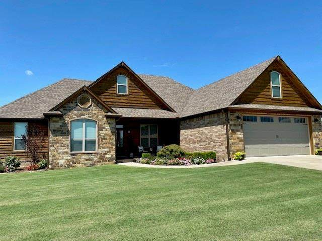 2025 Prairie Fire Drive, Sallisaw, OK 74955 (MLS #1037970) :: Hometown Home & Ranch