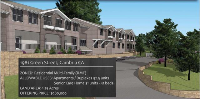 1981 Green Street, Cambria, CA 93428 (#514879) :: FresYes Realty
