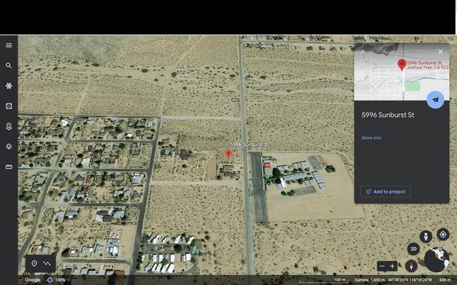 5996 Sunburst Street, Twentynine Palms, CA 92252 (#562492) :: Your Fresno Realty | RE/MAX Gold