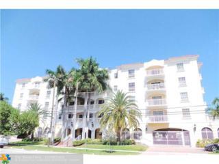 110 Hendricks Isle #11, Fort Lauderdale, FL 33301 (MLS #F10038122) :: Castelli Real Estate Services
