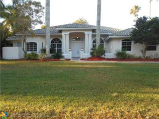 11740 SW 3rd St, Plantation, FL 33325 (MLS #F10059100) :: Green Realty Properties