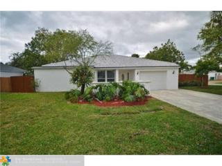 4901 SW 94th Ave, Cooper City, FL 33328 (MLS #F10063425) :: Green Realty Properties
