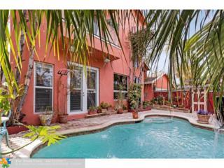 1241 Cordova Rd, Fort Lauderdale, FL 33316 (MLS #F10063473) :: Green Realty Properties