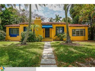 1038 Harrison St, Hollywood, FL 33019 (MLS #F10063953) :: Green Realty Properties
