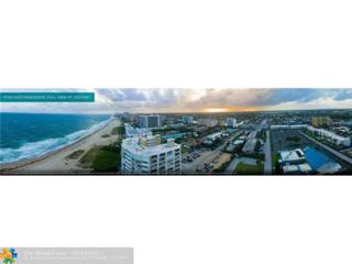 730 N Ocean Blvd #505, Pompano Beach, FL 33062 (MLS #F10069225) :: Castelli Real Estate Services