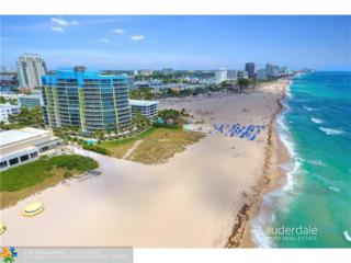 1200 Holiday Drive #503, Fort Lauderdale, FL 33316 (MLS #F10062723) :: Green Realty Properties