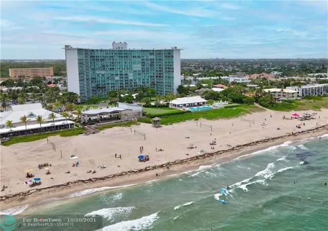 333 NE 21st Ave #308, Deerfield Beach, FL 33441 (MLS #F10293172) :: Green Realty Properties