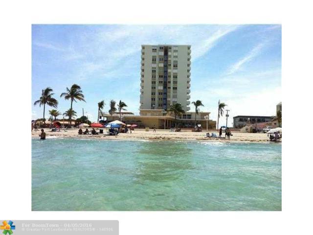 3111 N Ocean Dr #306, Hollywood, FL 33019 (MLS #F10003872) :: Green Realty Properties