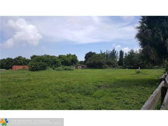 0 SW 139TH AVE & SW 17 ST, Davie, FL 33325 (MLS #F10019023) :: Green Realty Properties