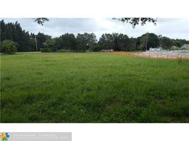 13600 Pine Meadow Ct, Davie, FL 33325 (MLS #F10036559) :: Green Realty Properties