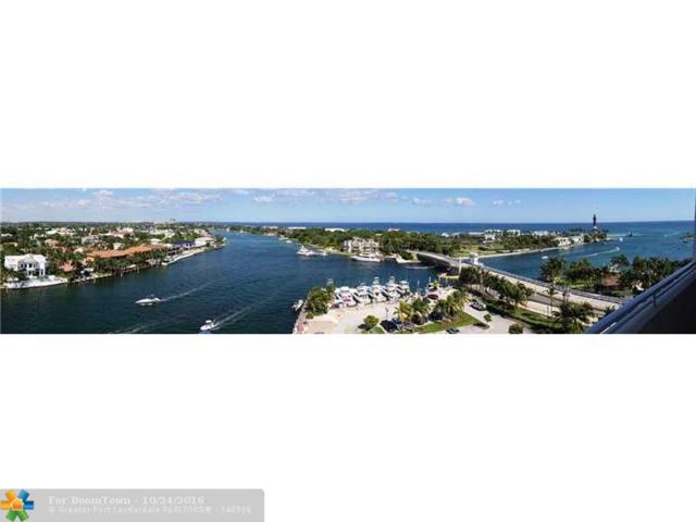 2639 N Riverside Dr #1101, Pompano Beach, FL 33062 (MLS #F10036614) :: The O'Flaherty Team