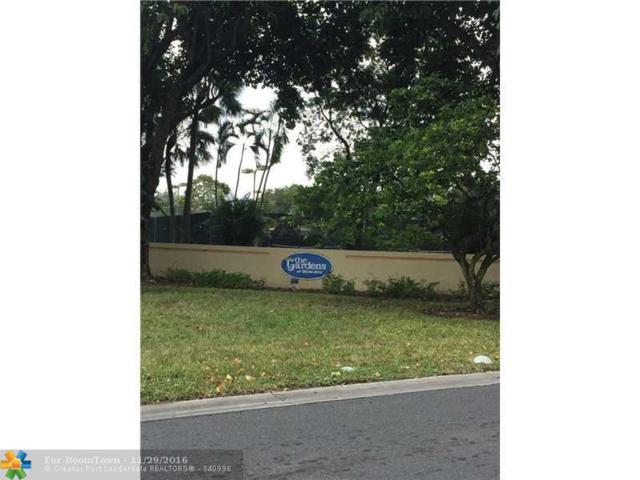 303 Gardens Dr #205, Pompano Beach, FL 33069 (MLS #F10041727) :: Green Realty Properties