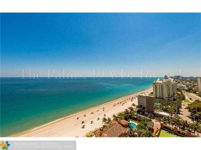 2110 N Ocean Blvd 19A&19D, Fort Lauderdale, FL 33305 (MLS #F10059363) :: Green Realty Properties