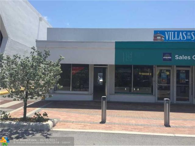 236 E Commercial Blvd, Lauderdale By The Sea, FL 33308 (MLS #F10069303) :: Green Realty Properties