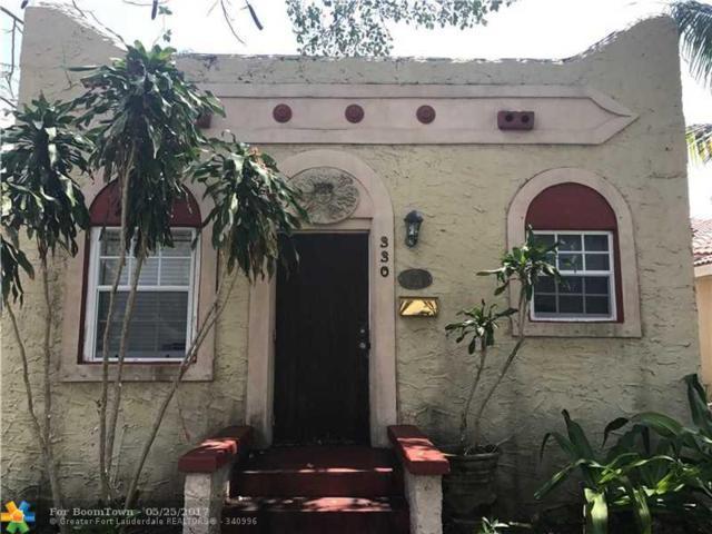 330 NW 1st Ave, Boynton Beach, FL 33435 (MLS #F10069407) :: Green Realty Properties